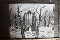 Natur, Romantik, Gothic, Winter