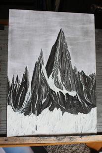 Gothic, Schwarz, Natur, Winter