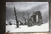 Schnee, Gothic, Romantik, Winter