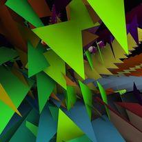 Transraum4, Acrylmalerei, Art info, Malerei