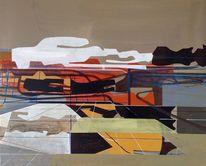 Neo, Abstrakt, Geo, Gemälde