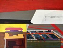 Modern, Rot, Avantgarde, Metaphysisch