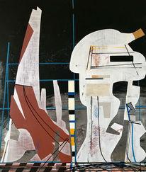 Luft, Modern, Metaphysisch, Abstrakt