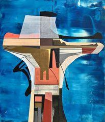 Technologie, Zeitgenössisch, Abstrakt maleri, Avantgarde