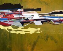 Jim harris, Konst, Universum, Abstrakt