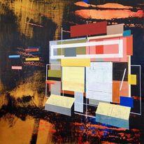 Zeitgenössisch, Modern, Probe, Abstrakt
