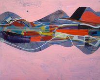 Gemälde, Architektur, Malen, Abstrakte malerei