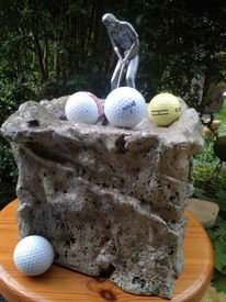 Golf, Plastik, Golfplatz