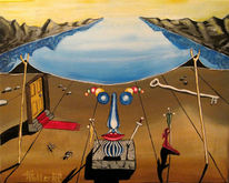 Fantasie, Landschaft, Surreal, Malerei