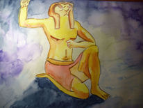 Aquarell, Mythologie