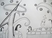 Pfeil, Gestalt, Kringel, Zeichnungen