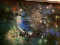 Planet, Malerei, Mix
