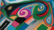 Pastellmalerei, Bunt, Dibodobo, Malerei