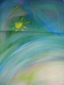Acrylmalerei, Universalsun, Malerei