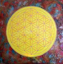 Heilige geometrie, Blume des lebens, Lebensblume, Symbol