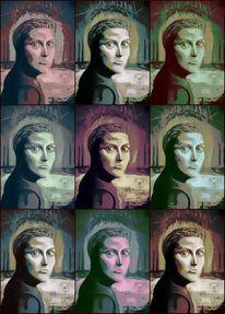 Gesicht, Portrait, Mystik, Magie