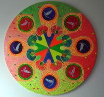 Bunt, Mandala, Spirituell, Leuchten