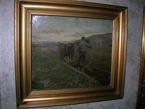 Malerei, Hilfe, Bauer, Signatur