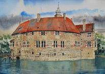 Burg, Wasser, Burg vischering, Wasserburg