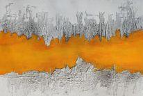 Mischtechnik, Abstrakte malerei