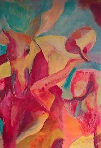 Figur, Acrylmalerei, Malen, Malerei
