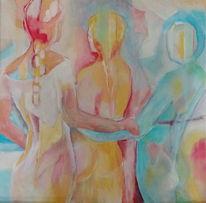 Hell, Malen, Zarte farben, Malerei