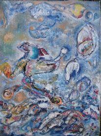 Gegenwart und zukunft, Malerei