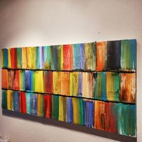 Malerei, Abstrakt, Modern, Mischtechnik