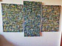 Abstrakt, Modern, Mischtechnik, Modern art