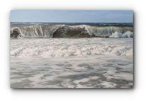 Wind, Nordsee, Malerei, Welle