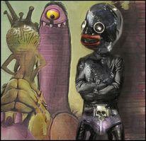 Comic, Friseur, Beelzebub, Dope