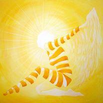 Gelb, Figural, Licht, Surreal