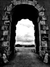 Burg, Tor, Natur, Fotografie
