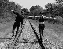 Schiene, Natur, Menschen, Fotografie