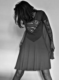 Menschen, Supergirl, Superman, Fotografie