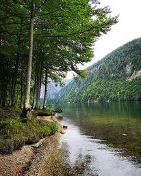 Natur, See, Berge, Fotografie