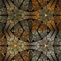 Kaleidoskop, Fraktalkunst, Ornament, Digitale kunst