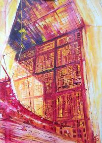 Stadtlandschaft, Paris, Stadt, Malerei