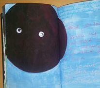 Farben, Tagebuch, Reflexion, Mischtechnik