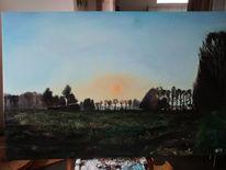 Himmel, Sonne, Malerei,