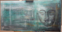 Buddha, Spirituell, Religion, Malerei