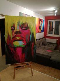 Wilde, Portrait, Farben, Malerei