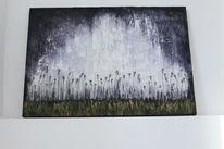 Weiß, Agonie, Landschaft, Lavendel