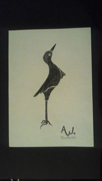 Zeichnung, Mischtechnik, Abstrakt, Malerei