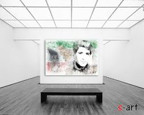 Portrait, sharyar, azhdari, Digitale kunst