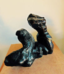 Bronze, Menschen, Frau, Mann