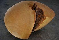 Holzskulptur, Eingewachsen, Gehäuse, Helix