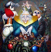 Mythe, Spekulant, Spiel, Hütchenspieler