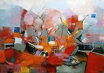 Gemälde abstrakt, Zeitgenössische kunst, Abstrakte kunst, Acrylmalerei