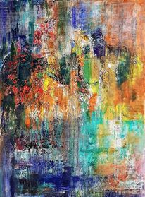 Struktur, Abstrakte malerei, Moderne malerei, Moderne kunst